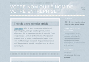 Modele newsletter beaudelaire